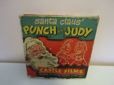 Vintage Castle Films Santa Claus Punch and Judy 16mm Christmas Movie