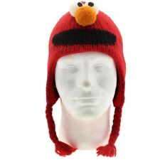 Sesame Street Kids Elmo Pilot Hat Beanie (red)