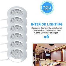 12V Interior LED Spot Light Charger For Camper Van Caravan Motorhome Boat US