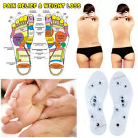2018 MindInSole Acupressure Magnetic Slimming Foot Massager Therapy Weight Loss