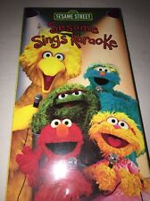 Sesame Street SESAME SINGS KARAOKE VHS VIDEO-#LV-55727-RARE VINTAGE COLLECTIBLE