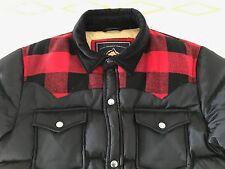 Penfield Rockford Red Plaid Yoke Down Jacket - Men's MEDIUM