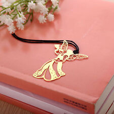 Angel Shaped Gold Plated Metal Bookmarks Book Markers Gift For Readers