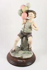 Giuseppe Armani Figurine Boy with Balloons MINT WorldWide
