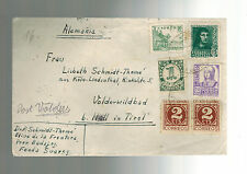 1938 Fascist Spain Airmail cover to Germany from Paul Schmidt Thome Geologist