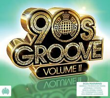 Various Artists - 90s Groove, Vol. 2 (2013) 3xCD Very Good Condition