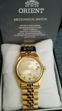 Orient Dignitary Oyster Watch with Sapphire Crystal Seiko-Orient ModelSEV0J001GY