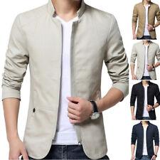 Men Casual Slim Fit Business Formal One Button, Suit Blazer Coat Jacket Tops