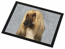 Afghan Hound Dog Black Rim Glass Placemat Animal Table Gift, AD-AG1GP