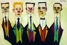 WISE GUYS - High Quality Print by Clifford Bailey