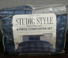 Berkshire Life Studio Style 8 Piece Comforter Set Twin Xl Comforter Set ~New~