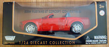 Motor Max Diecast 2004 04 Ford Mustang GT Concept Convertible 1/24 Scale #73200