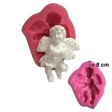 Moule silicone 3D Ange pour pâte à sucre, cake design, décoration gateau...