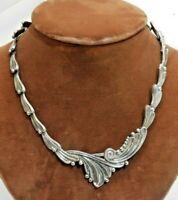 Vintage Margot De Taxco Sterling Silver Mexican Necklace
