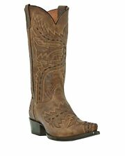 Dan Post Mens Sidewinder Boot Brown Size 8 Extra Wide #NX249-M501