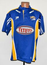 RUGBY LEAGUE LEEDS RHINOS SHIRT JERSEY PATRICK SIZE L ADULT MULTI