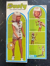 KENNER 1974 Rare Never Played With DUSTY THE TENNIS CHAMPION NIB