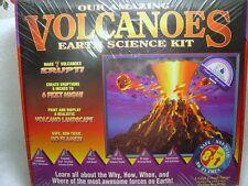 Caleb complete Volcano es Eruption lab set kit earth science kids children kids
