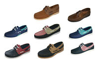Womens  Seafarer Yachtsman Nubuck Leather Boat Deck Shoes  Sizes 4 - 8