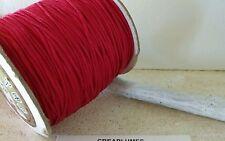 Lot de 5m cordon fil de nylon pour bracelet , 1.5mm  médium violet