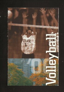 Butler Bulldogs--2000 Volleyball Pocket Schedule