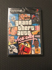 Grand Theft Auto: Vice City Sony PlayStation 2 Ps2 2002 Sealed Cib Complete!< 00004000 /a>