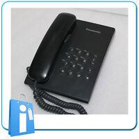 Telefono Fijo Sobremesa Panasonic KX-TS500EXB Negro USADO