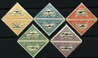 ESTONIA #C14-C18 Tete Beche Pairs Airmail Stamps Postage Set 1925 Mint NH OG
