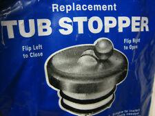 """Flip It Tub Drain Stopper Fits 1-3/8"""" -1-5/8"""" Nip Free S/H"""