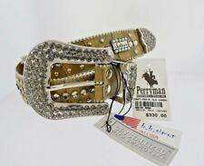 Medium B.B. Simon Horse Shoe with Swarovski Crystals Belt