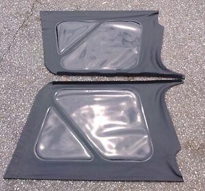 NOS Jeep Tj tinted soft top windows Chrysler Wrangler 97-06 Black diamond