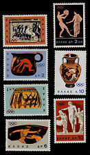 GREECE   SCOTT# 806-812  MNH  OLYMPICS/VASE