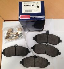 Borg & Beck disc brake pads set Citroen Dispatch, Peugeot Expert, FAIT SCUDO