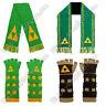 Legend of Zelda Scarf & Gauntlets: gloves tri-force link green NES Nintendo knit