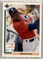 Michael Jordan  Chicago White Sox  1991 Upper Deck SP1 Baseball Rookies to 2020!