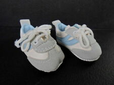 PLAYHOUSE Doll Shoes 68mm GRAY & BLUE SNEAKER SHOES - SPORTY! DS07