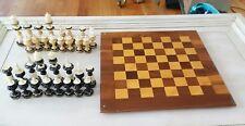 """Drueke Model 63 Walnut & Maple 18"""" Chess Board"""
