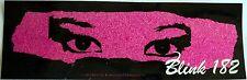 blink 182 sticker  Licensed punk rock