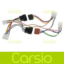 Toyota Yaris Car Hands Free Parrot/Bluetooth ISO Adaptor Lead Connector Harness
