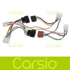 Toyota Yaris Auto Vivavoce Parrot/Bluetooth Cavo Adattatore ISO connettore cablaggio