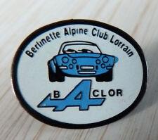 RARE PIN'S ALPINE RENAULT A 110 BERLINETTE CLUB LORRAIN