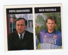 figurina CAMPIONI E CAMPIONATO 90/91 1990/91 N. 453 REGGIANA MARCHIORO, FACCIOLO