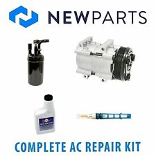 Complete AC A/C Repair Kit With NEW Compressor & Clutch Fits Ford Ranger 2.3L