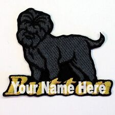 Affenpinscher Dog Custom Iron-on Patch With Name Personalized Free