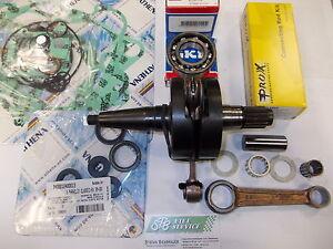 NEU Aprilia RS125 Kurbelwelle Rotax 122 im AT.Mit Lagern Simmerringen Dichtungen