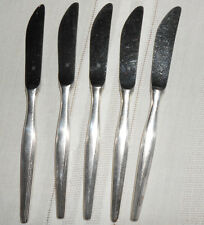 WMF Hanover silver flatware Germany 5 pcs hollow handle knives