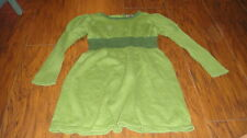 BOUTIQUE TEA COLLECTION GREEN SWATER STYLE DRESS GIRLS 5