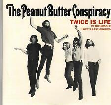 THE PEANUT BUTTER CONSPIRACY Twice Is Life M- 45 EP RPM P/C M-