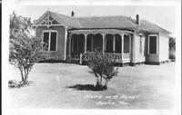 Austin Texas O. HENRY HOME Vintage POSTCARD Real Photo RPPC bw FOUND 03 16 M