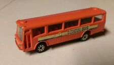 King Star 1/146 Scale Orange Diecast Isuzu Hi-Decker CRA650 School Bus